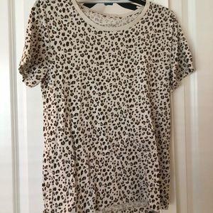 J crew leopard top